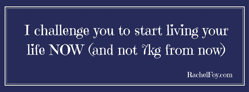 STOP Waiting On Your Weight…!