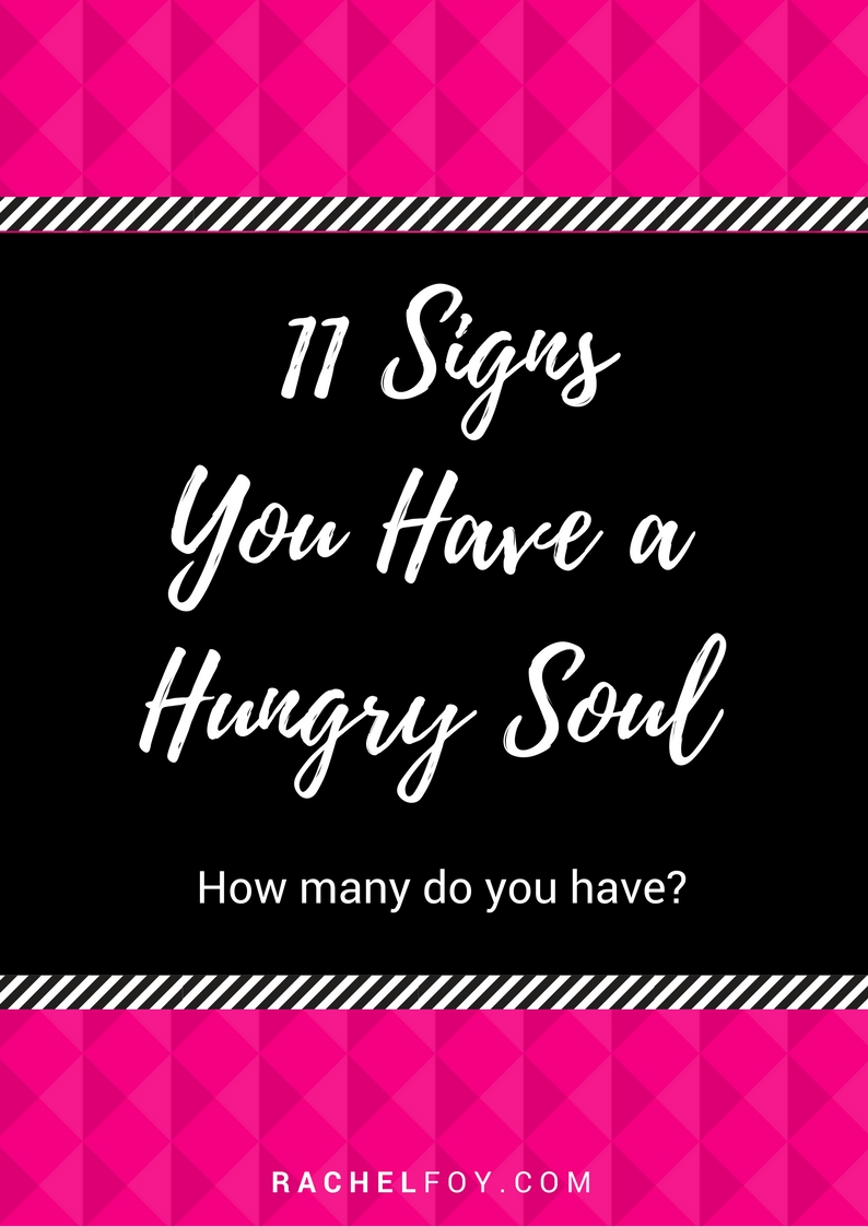 11 signs hungry soul rachel foy blog diet coach binge eating emotional eating